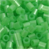 PhotoPearls, size 5x5 mm, hole size 2,5 mm, green mother-of-pearl (22), 1100 pc/ 1 pack
