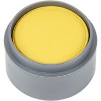 Water-based Face Paint, yellow, 15 ml/ 1 tub