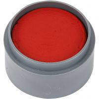 Water-based Face Paint, clear red, 15 ml/ 1 tub