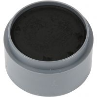 Water-based Face Paint, black, 15 ml/ 1 tub