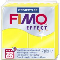 FIMO effect, neon yellow, 57 g/ 1 pack