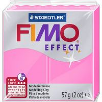 FIMO effect, neon pink, 57 g/ 1 pack