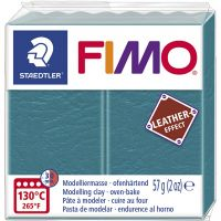 FIMO® Leather Effect , lagoon (369), 57 g/ 1 pack
