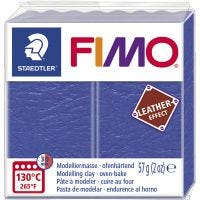 FIMO® Leather Effect , indigo (309), 57 g/ 1 pack