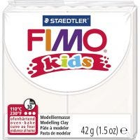 FIMO® Kids Clay, white, 42 g/ 1 pack