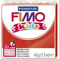 FIMO® Kids Clay, red, 42 g/ 1 pack