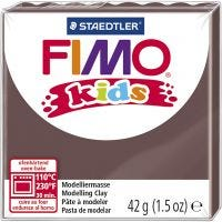 FIMO® Kids Clay, brown, 42 g/ 1 pack