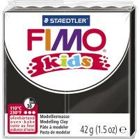 FIMO® Kids Clay, black, 42 g/ 1 pack