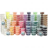 Foam Clay®, assorted colours, 22x10 tub/ 1 pack