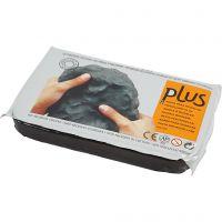 Self-Hardening Clay, black, 12x1000 g/ 1 pack