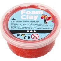Foam Clay®, red, 35 g/ 1 tub