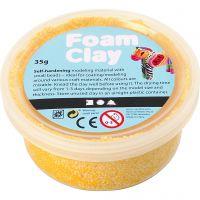 Foam Clay®, yellow, 35 g/ 1 tub