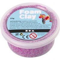Foam Clay®, neon purple, 35 g/ 1 tub