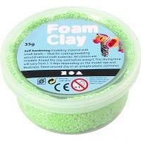 Foam Clay®, neon green, 35 g/ 1 tub