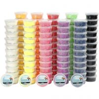Foam Clay®, assorted colours, 10x12 tub/ 1 pack