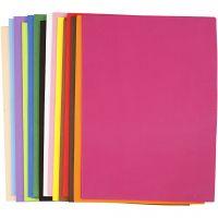 EVA Foam Sheets, A3, 297x420 mm, thickness 2 mm, 30 ass sheets/ 1 pack