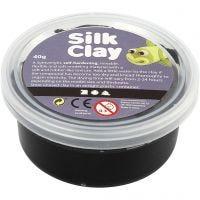 Silk Clay®, black, 40 g/ 1 tub