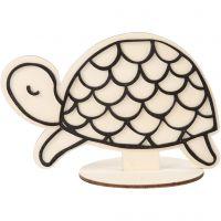 Decoration Figure, turtle, H: 10 cm, 1 pc