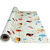 Wax tablecloth, party, size 140 cm, 1 rm
