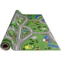 Wax tablecloth, racetrack, size 140 cm, 1 rm
