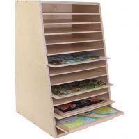 Puzzle rack, size 43,5x68 cm, 1 pc