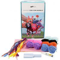 DIY Yarn Kit - Animals, 1 set