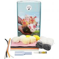 Easter Pom-pom Animal Kit, 1 set/ 1 box