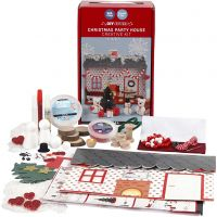 Christmas party house, 1 set