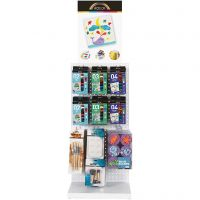 A-Color Acrylic Paint And Brushes, standard colours, 72 sales units/ 1 pack