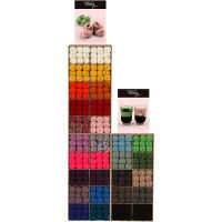 Melbourne Yarn, assorted colours, 300 sales units/ 1 pack
