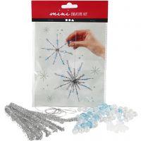 Creative mini kit, snowflakes, 1 set