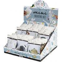 Table display with creative mini kits, 60 set/ 1 pack