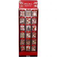 Floor display with Mini Creative Kits, H: 1500 mm, W: 580 mm, 108 sales units/ 1 pack