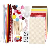 Crafting assortment, Candy, 1 pack