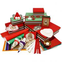 The Traditional Christmas Bargain, assorted colours, 1 set