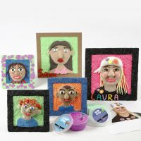 Self Portraits with Silk Clay