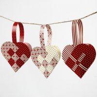 Woven heart baskets