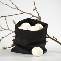 A Bag for Eggs – made from Imitation Fabric