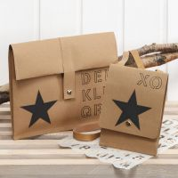 Decorating Bags made from faux  Leather Paper