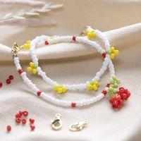 A cherry and a lemon bracelet