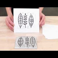 Make your own design on a carving block