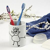 Line Drawings with Glass and Porcelain Markers