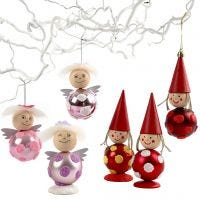 Bauble Angels and Pixies