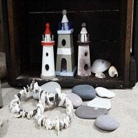 Lighthouses with A-Color Glaze