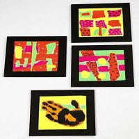 Trivets with Collage
