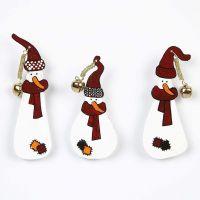 Snow Men in Shrink Plastic Sheets