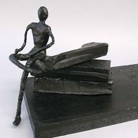 A Sculpture made from Cheese Wax