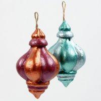 Papier-Mâché Ornaments