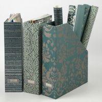 A Magazine Box with Handmade Paper