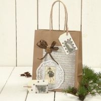A Gift Bag with Decorations
